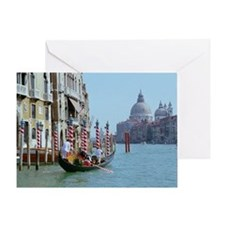 The Grande Canal in Italy Venice Greeting Card