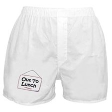 Out to Lunch Boxer Shorts