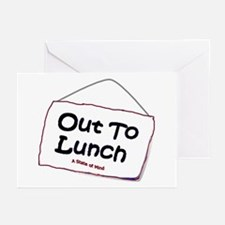 Out to Lunch Greeting Cards (Pk of 10)