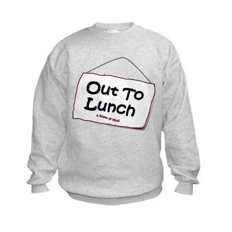 Out to Lunch Kids Sweatshirt