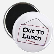 "Out to Lunch 2.25"" Magnet (10 pack)"