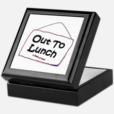 Out to Lunch Keepsake Box