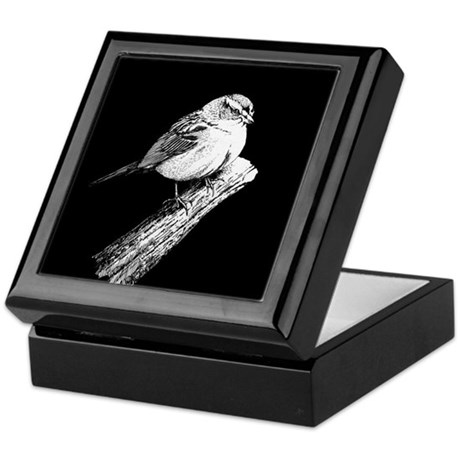 Sparrow Keepsake Box