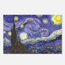 Starry Night by Vincent v Postcards (Package of 8)