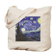 Starry Night by Vincent van Gogh Tote Bag