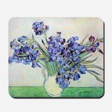 Still Life: Vase with Irises by Vincent  Mousepad