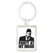 Kwame - Party At My House! Portrait Keychain