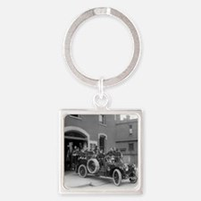 Packard Fire Squad Square Keychain