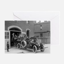 Packard Fire Squad Greeting Card