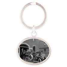 Packard Fire Squad Oval Keychain