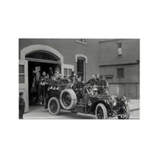 Packard Fire Squad Rectangle Magnet