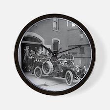 Packard Fire Squad Wall Clock