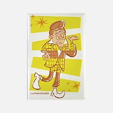 Man Mahon [yellow] Rectangle Magnet