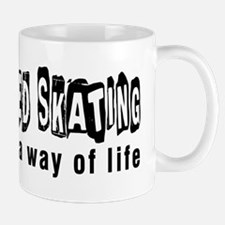 Speed Skating it is a way of life Mug