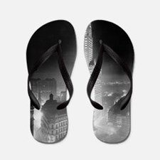 Woolworth Building at Night Flip Flops