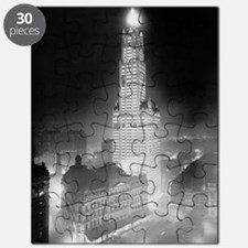 Woolworth Building at Night Puzzle