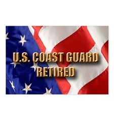 usa uscg ret Postcards (Package of 8)