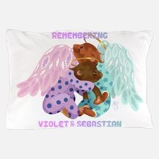 Violet and Sebastian Pillow Case