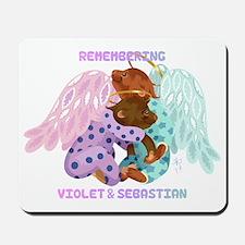 Violet and Sebastian Mousepad