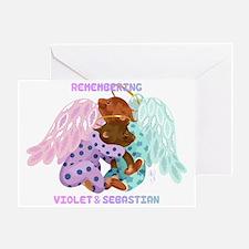Violet and Sebastian Greeting Card