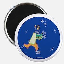 Clowny Mime Bear [blue 1] Magnet