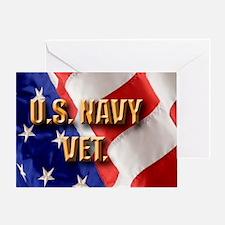 usa navy vet Greeting Card
