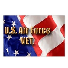 usa usaf vet Postcards (Package of 8)