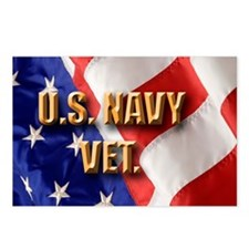 usa navy vet Postcards (Package of 8)