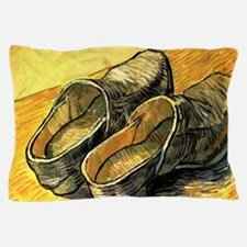 Van Gogh A Pair of Leather Clogs Pillow Case