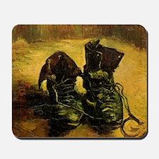 A Pair of Shoes by Vincent van Gogh Mousepad