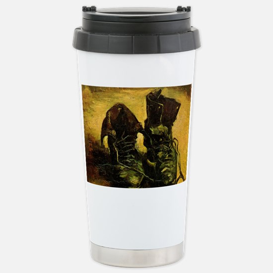 A Pair of Shoes by Vinc Stainless Steel Travel Mug