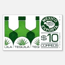 1992 Mexico Tequila Export Pos Decal
