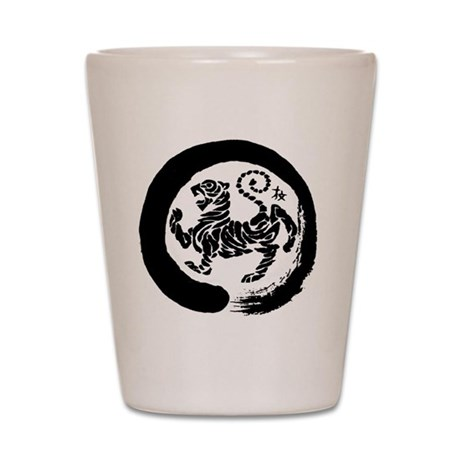 Shotokan Tiger Shot Glass