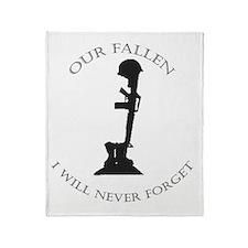 Our Fallen Throw Blanket