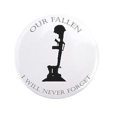 """Our Fallen 3.5"""" Button"""