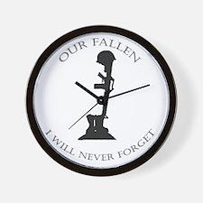 Our Fallen Wall Clock
