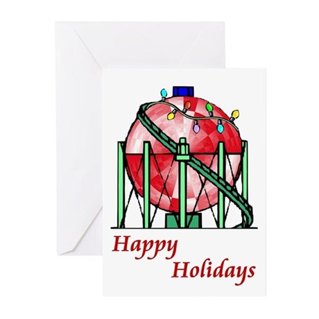 Oilfield Christmas Cards (Pk of 10)