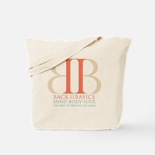Back II Basics (tri-color dark) Tote Bag