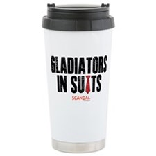 Gladiators in Suits Stainless Steel Travel Mug