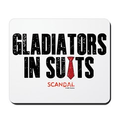 Gladiators in Suits Mousepad
