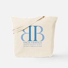 Back II Basics (dusk blue) Tote Bag