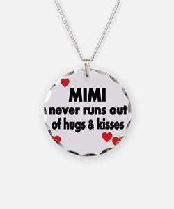MIMI NEVER RUNS  OUT OF HUGS Necklace