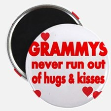 GRAMMYS  NEVER RUN  OUT OF HUGS  KISSES Magnet