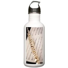 Flute and Music For Ph Water Bottle