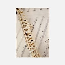 Flute and Music For Phone Case Rectangle Magnet