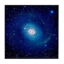 Spiral Galaxy Tile Coaster