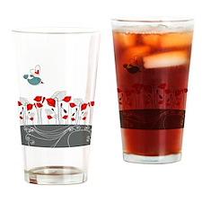 BeachTowel3 Drinking Glass