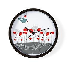 BeachTowel3 Wall Clock