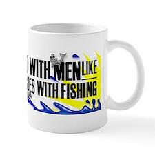 Beards...Dynamite...Fishing Mug