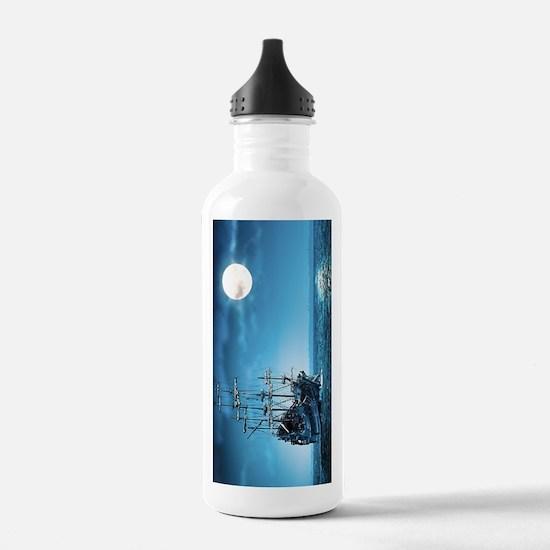 BeachTowel35 Sports Water Bottle